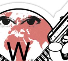 world war Sticker
