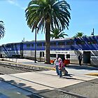 Amtrak Surfliner #566 Arriving at San Diego - © 2010 by Jack McCabe