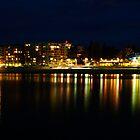Bay Lights - Glenelg by rebecca brace