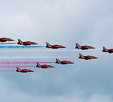 Red Arrows at BGP 2009 - 1 by James McInroy