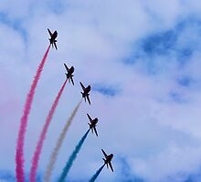 Red Arrows at BGP 2009 - 3 by James McInroy