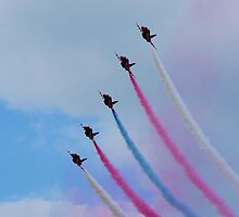 Red Arrows at BGP 2009 - 4 by James McInroy