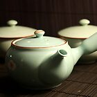 Green Tea set by Darsha Gillmore