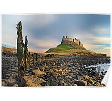Classic Lindisfarne - Holy Island Poster