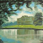 'Mr Darcy's 'Pemberley' (Lyme Park)' by Martin Williamson (©cobbybrook)