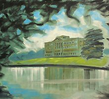 'Mr Darcy's 'Pemberley' (Lyme Park)' by Martin Williamson (©cobbybrook)