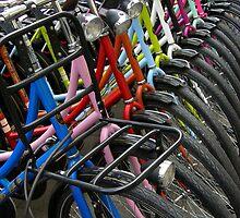 Amsterdam=Bikes by IngridSonja
