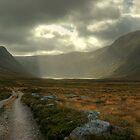 Glen Einich..Light On The Loch by VoluntaryRanger