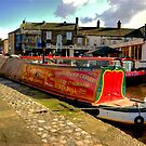 "The Barge ""Pearl Barley""  #2 by Trevor Kersley"