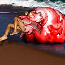 The Blob on the Beach by GolemAura