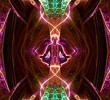 Neon Angel kiss by Bill Brouard