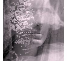 Lady Lace - JUSTART ©  Photographic Print