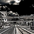 Ghost Town - Ybor City  Duotone by MKWhite