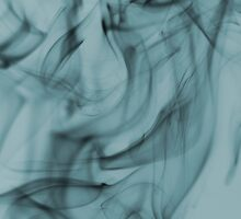 Smoldering Smoke Muted Pastel 004 by Ray Anthony