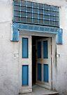 Door in the Souks of Tunis by Lucinda Walter