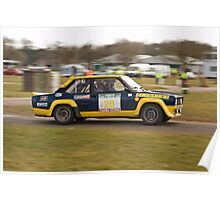 Fiat 131 Abarth Rallye Poster