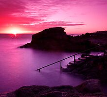 Sunrise at the Forty Foot, Co. Dublin by Stephen O'Connell