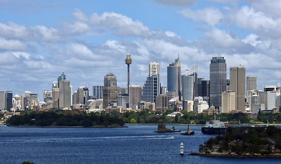 Sydney Harbour from Taronga Zoo by yolanda