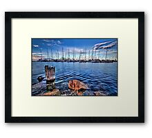 A View Ahoy Framed Print