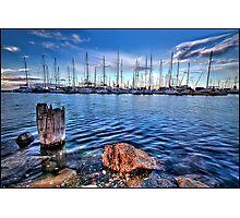 A View Ahoy Photographic Print