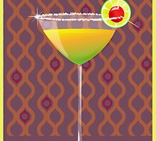 lime martini with a twist by anjou