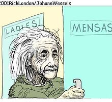 Einstein's Bathroom: Londons Times Cartoons by Rick  London