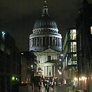 St Paul's Cathedral In The Rain by wiggyofipswich