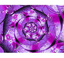 Purple Heart Blast Photographic Print