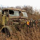 Abandoned Military Truck by Mick Smith