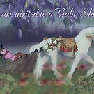 Baby Shower Invitation Card African American Fairy by Moonlake