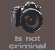 Photography is not criminal by wolfcat