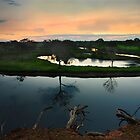 Werribee River by RichardIsik