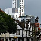 The New and The Old, Ipswich, Suffolk by wiggyofipswich