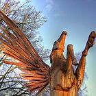 Pegasus Tree Sculpture Woking 2 - HDR  by Colin J Williams Photography