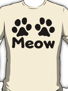 Cat Paw Meow T-Shirt