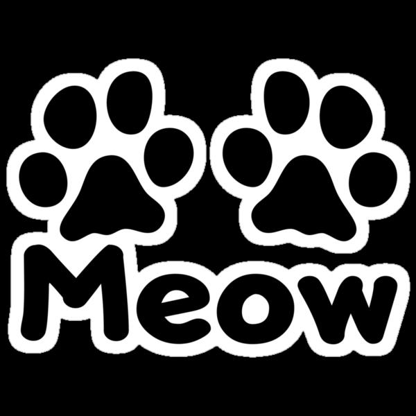 Cat Paw Meow by KimberlyMarie