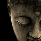 STONE BUDDHA by SIMON KEEPING