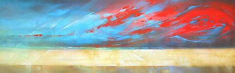 Sunset Storm by Brian Rolfe