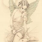 &quot;Fairy Warrior&quot; Colour Pencil Artwork by John D Moulton