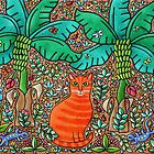 The Orange Cat by Amanda White