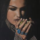 &quot;Shiraz&quot; Oil on Canvas by John D Moulton