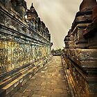 A Passage in Borobudur Temple by Charuhas  Images