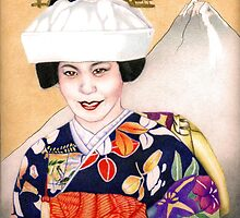 Japanese Bride by Rhonda  Anderson