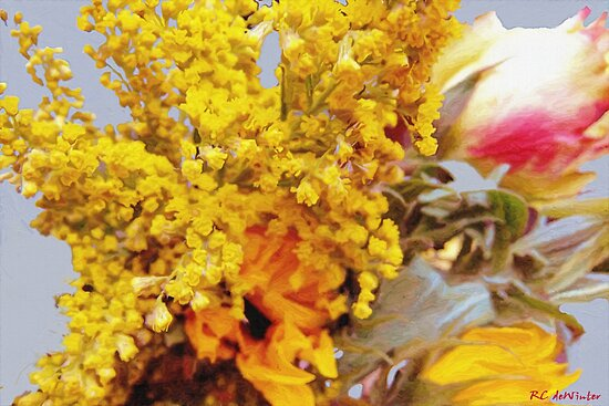 Spring Sky Bouquet by RC deWinter