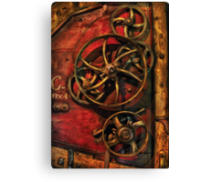 Steampunk - Clockwork Canvas Print
