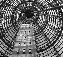 Looking up - Coops Shot Tower, Melbourne Central by Edge-of-dreams