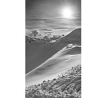 Snowy Peak Photographic Print