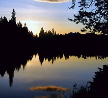 Sunrise Reflections - Sprague Lake by Stephen Vecchiotti