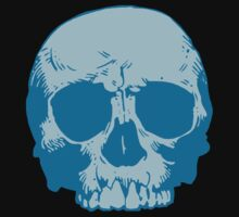 Blue Skull by KimberlyMarie