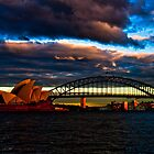 Sydney sunrise by David Petranker